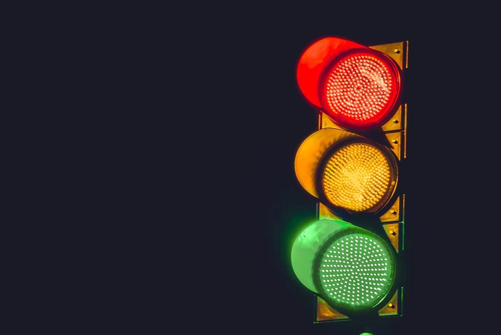 闯红灯、扣分、罚款